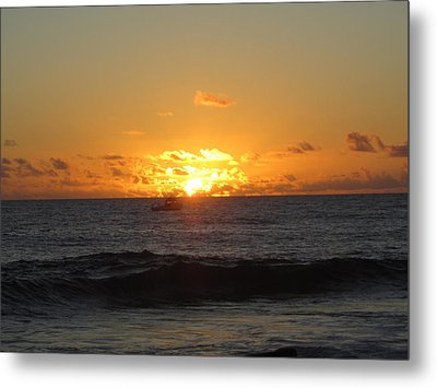 Hi Sunset-1 Metal Print