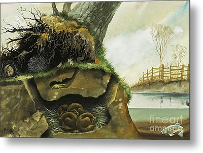 Hibernation Metal Print