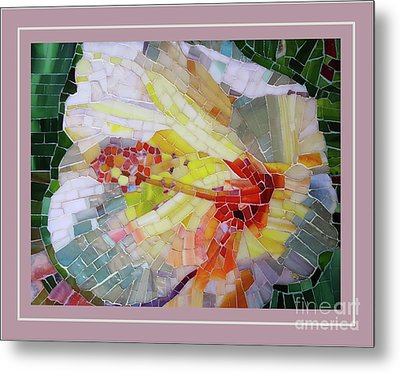 Hibiscus #3 Metal Print by Adriana Zoon