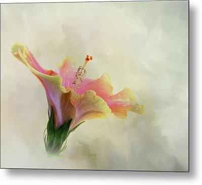 Hibiscus Art Metal Print
