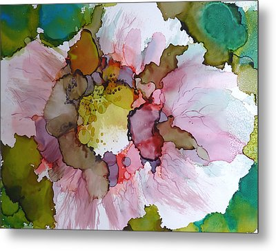 Hibiscus Metal Print by P Maure Bausch