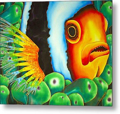 Hidden Clownfish Metal Print by Daniel Jean-Baptiste