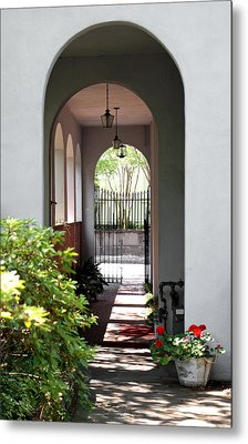 Hidden Corridor Metal Print by Jean Haynes