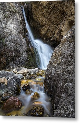 Metal Print featuring the photograph Hidden Falls by Spencer Baugh