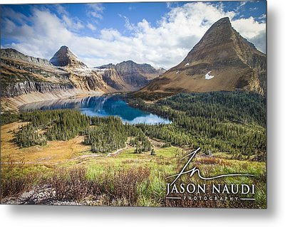 Metal Print featuring the photograph Hidden Lake by Jason Naudi