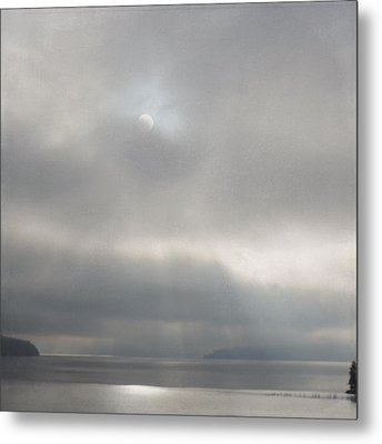 Metal Print featuring the photograph Hidden Rays by Sally Banfill