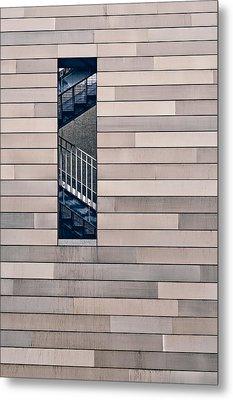 Hidden Stairway Metal Print