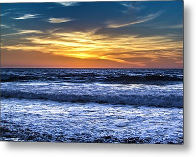 Hidden Sunset Metal Print