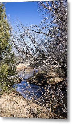 Hidden Swimming Hole Metal Print