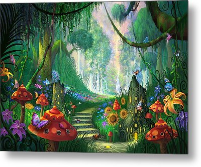 Hidden Treasure Metal Print by Philip Straub