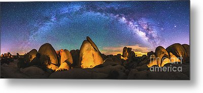 Hidden Valley Milky Way Metal Print