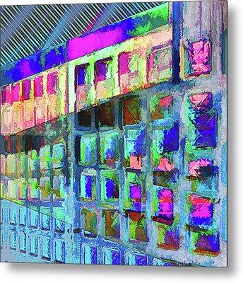 Metal Print featuring the digital art Hide And Seek by Wendy J St Christopher
