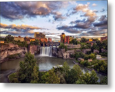High Falls Rochester Metal Print