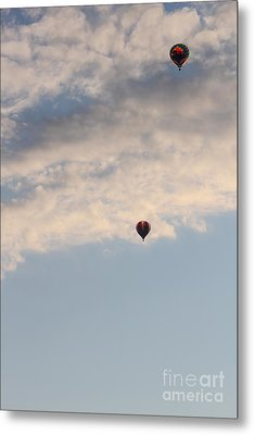 High In The Clouds Metal Print by Victory  Designs