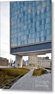 High Line Park And Hotel Metal Print by Eddy Joaquim