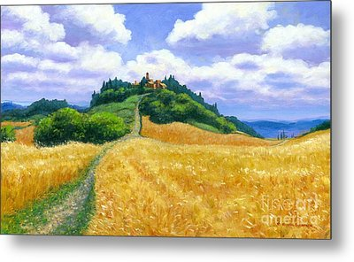 High Noon Tuscany  Metal Print