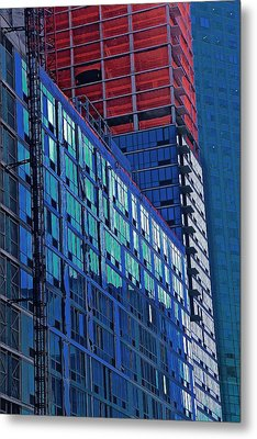 High Rise Metal Print by Gillis Cone
