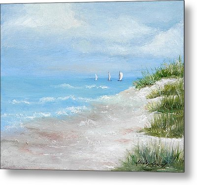 High Sails Metal Print by Shirley Lawing