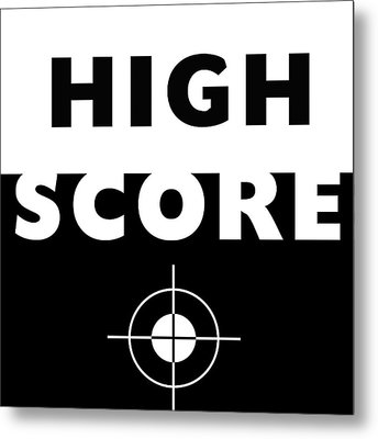 High Score- Art By Linda Woods Metal Print by Linda Woods