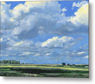 High Summer Metal Print by Bruce Morrison