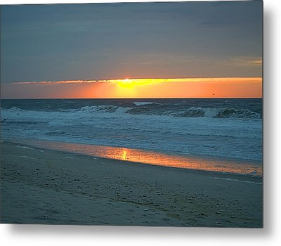 High Sunrise Metal Print by  Newwwman