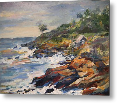 High Tide Metal Print by Pati Maguire
