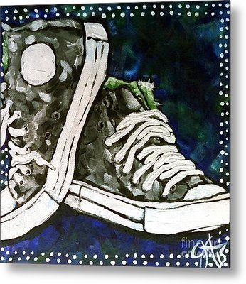 High Top Heaven Metal Print by Jackie Carpenter