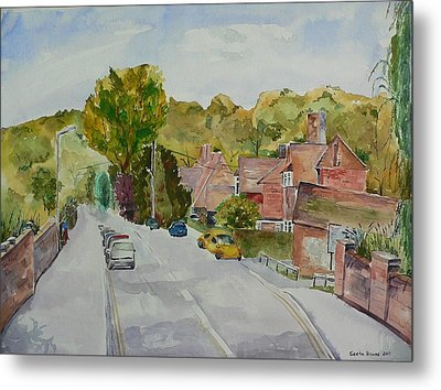 Metal Print featuring the painting High Wycombe by Geeta Biswas