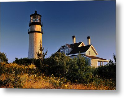 Highland Beacon From The Bluffs Metal Print by Thomas Schoeller