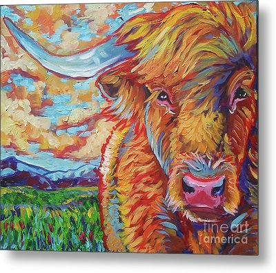 Highland Breeze Metal Print by Jenn Cunningham