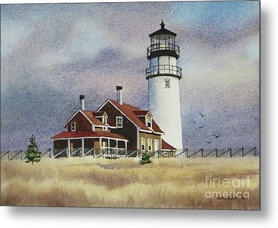 Highland Light View Metal Print