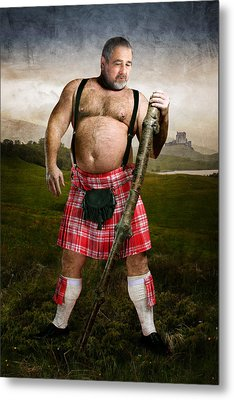 Highlands Metal Print by Bear Pictureart