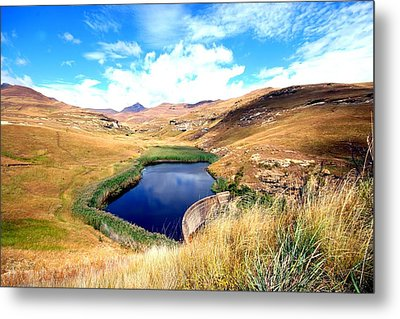 Metal Print featuring the photograph Highlands by Riana Van Staden
