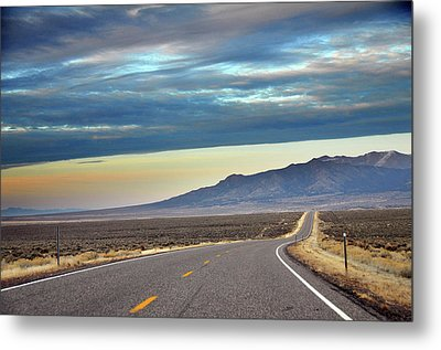 Highway 130 To Minersville Metal Print by Utah-based Photographer Ryan Houston