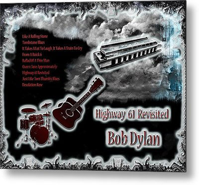 Highway 61 Revisited Metal Print