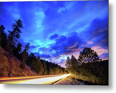 Metal Print featuring the photograph Highway 7 To Heaven by James BO Insogna