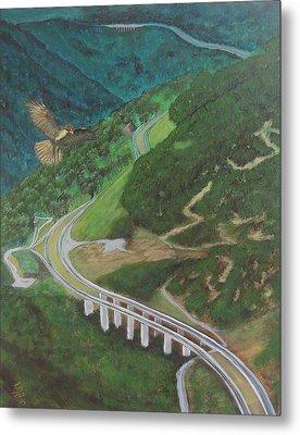 Highway Metal Print by Tony Rodriguez