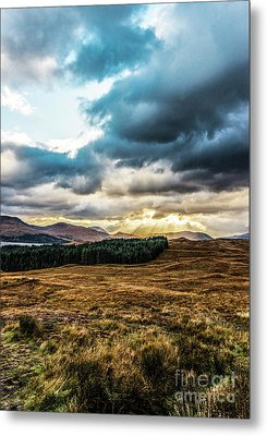 Metal Print featuring the photograph Higlands Wonders by Anthony Baatz