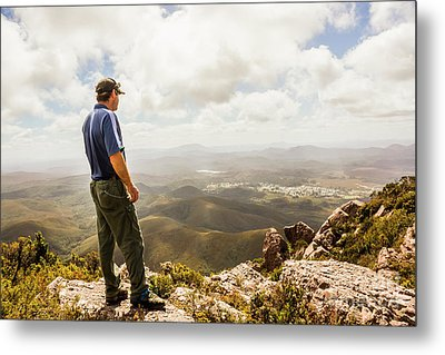 Hiking Australia Metal Print by Jorgo Photography - Wall Art Gallery