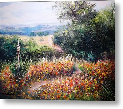 Hill Country Gone Wild Metal Print
