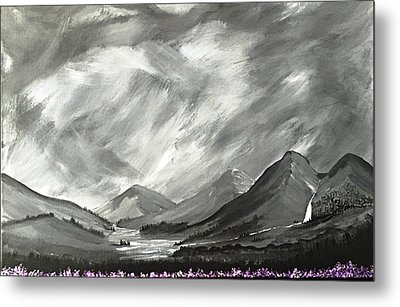 Hills And Heather  Metal Print