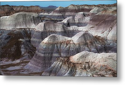 Hills Of Blue Mesa Metal Print by Joseph Smith