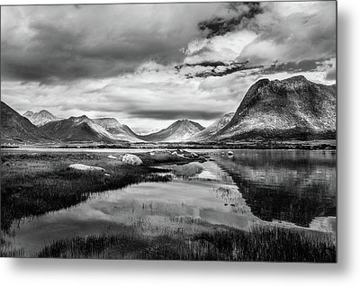 Metal Print featuring the photograph Hills Of Vesteralen by Dmytro Korol