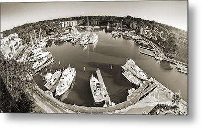Hilton Head Harbor Town Yacht Basin 2012 Metal Print