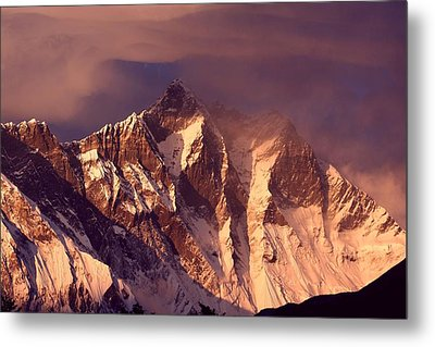 Himalayas At Sunset Metal Print
