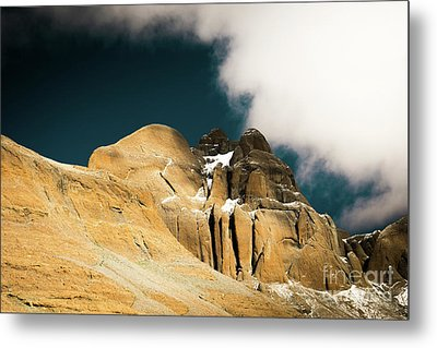 Himalayas Mountain Kailas Kora Tibet Yantra.lv Metal Print