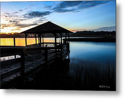 Hinson House Dock Metal Print by Bill Cantey