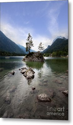 Hintersee Metal Print by Nailia Schwarz