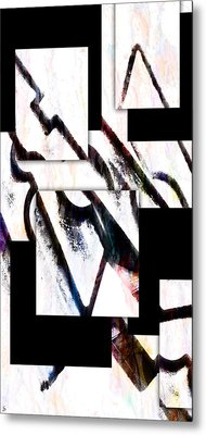 Metal Print featuring the digital art Hip To Be Square by Ken Walker