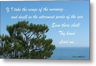 His Hand Shall Lead You Metal Print by Doreen Whitelock